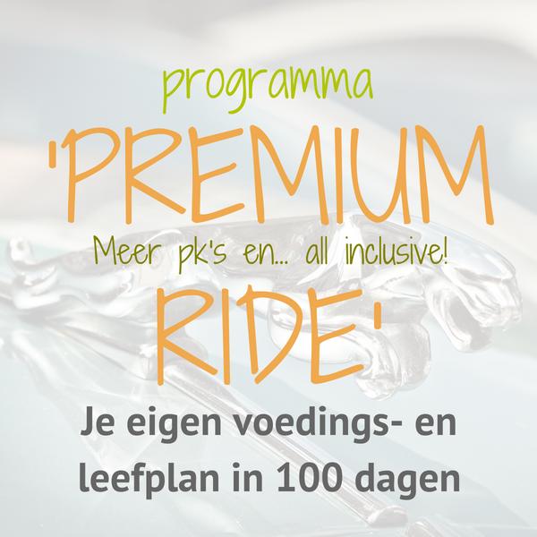 Premium ride