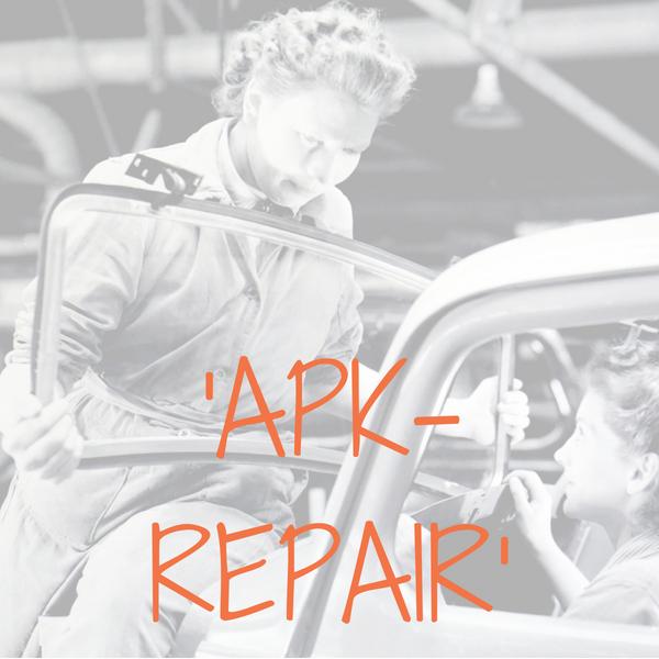 APK, repair - strippenkaart