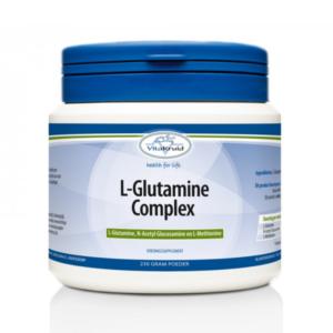 L-Glutamine complex, herstelt de darmwand