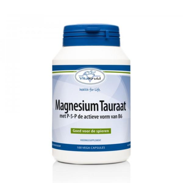 Magnesiumtauraat, de 'gezondheidsduizendpoot'