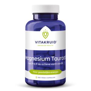 Magnesiumtauraat, de 'gezondheidsduizendpoot' 100 capsules