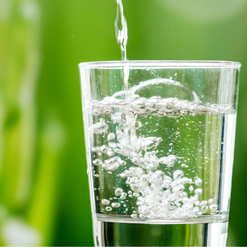 Water met mineralen
